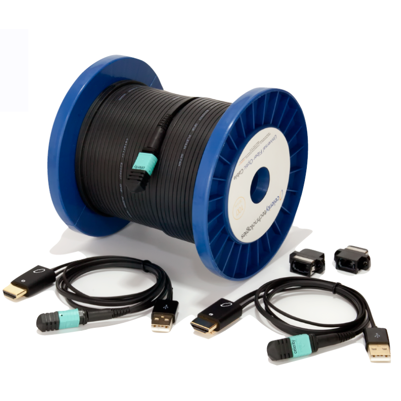 Celerity Universal Fiber Optic (UFO) HDMI Cable Kits